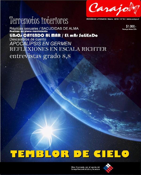Carajo 2010 edición especial terremoto Chile